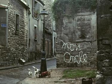 An analysis of filmic satire the modern and vernacular in jacques tati s mon - Jacques tati mon oncle ...