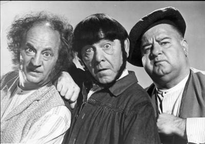 Three stooges gang bang